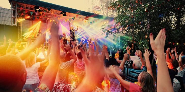 Vasaros renginiai, renginių organizavimas